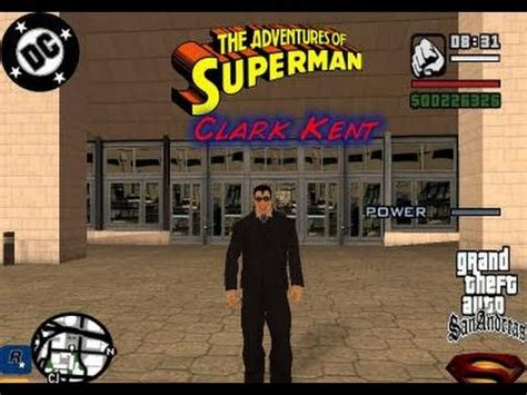 gta san andreas: how to be superman cheat (gta san