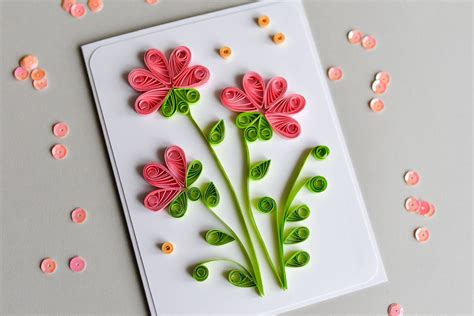 How To Make A Card With Paper - how to draw a 3d flower step by step how to make
