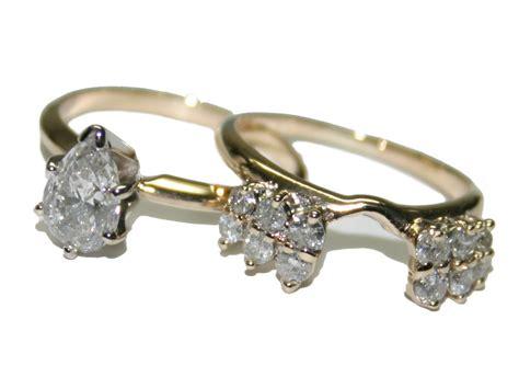 14k yellow gold 1 41ct diamond women s engagement and wedding ring set size 6 ebay