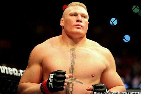 Brock Lesnar Returns To The Octagon In Ufc 200 Co Main Brock Lesnar