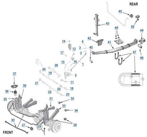 2001 jeep grand front end diagram 2001 jeep grand tie rod end diagram 2001 free