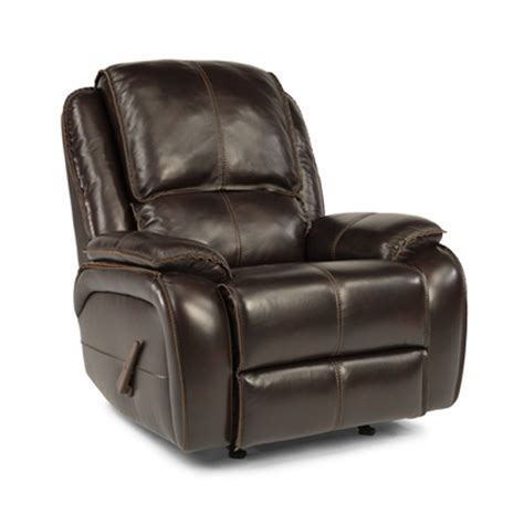 Cheap Rocking Recliners by Flexsteel 1270 510 Avery Leather Rocking Recliner Discount