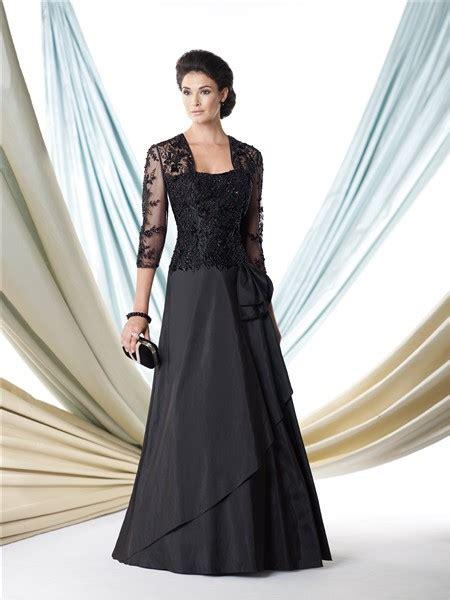 formal a line black taffeta lace beaded bolero jacket