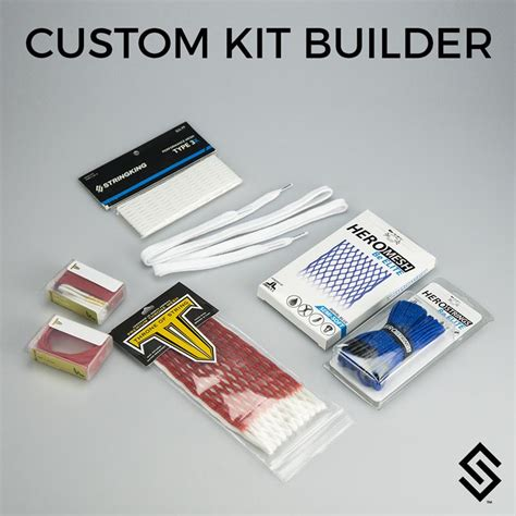 String Kits - stylin strings custom lacrosse mesh stringing kit