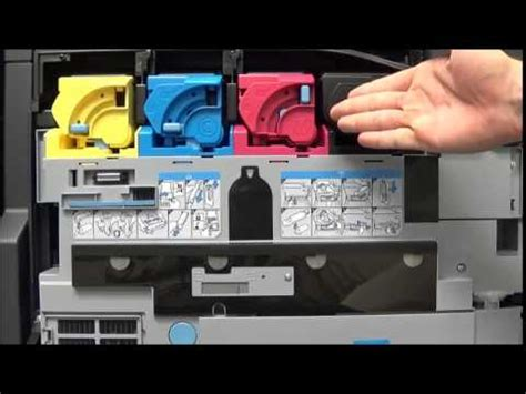 Chagne Black by Changing The Toner Cartridges Kyocera Taskalfa