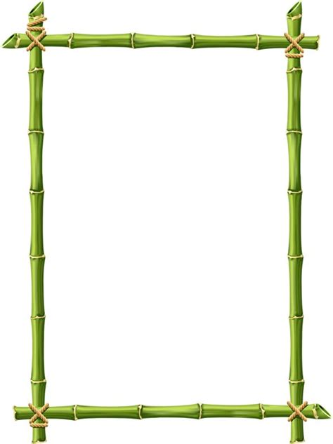 bamboo clip bamboo border clipart free cliparts