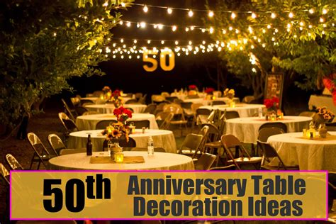 anniversary table decoration ideas celebrations