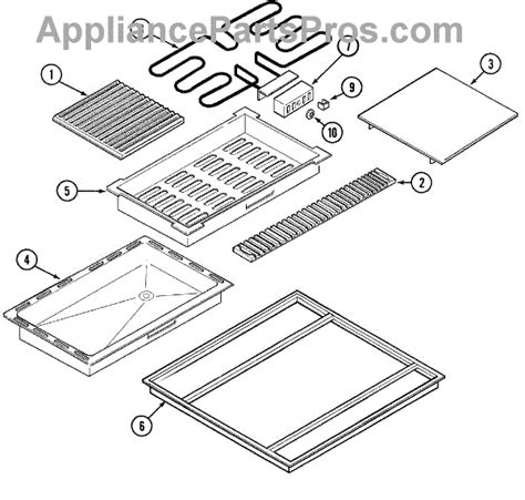 jenn air oven parts diagram whirlpool y04100124 jenn air electric grill element