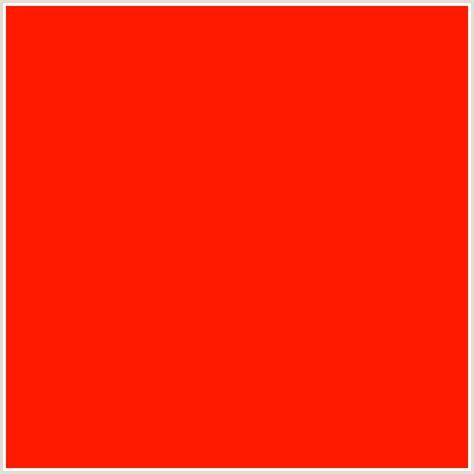 scarlet colour ff1a00 hex color rgb 255 26 0 red scarlet