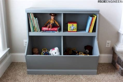 toy box bookcase with storage plans decoredo