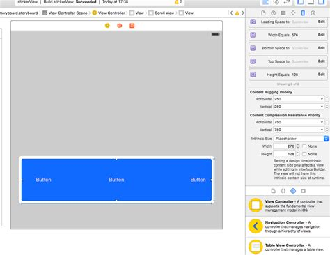 xcode uiscrollview tutorial storyboard ios putting a uiscrollview in a viewcontroller
