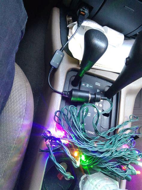twelve volt christmas tree installing 12 volt lights in your car