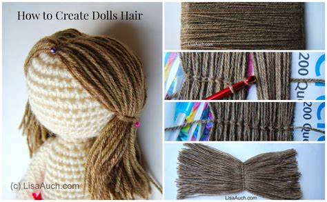 Hairstyle Books Free by Crochet Doll Hair Crochet Tutorial
