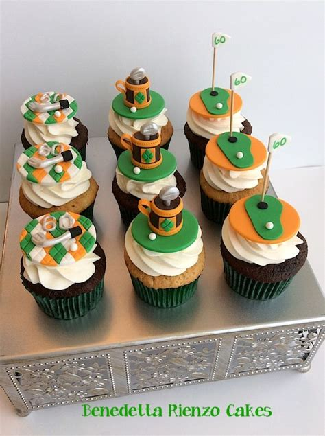 cupcakes inspired by golf cupcakes golf cupcake toppers inspired by the