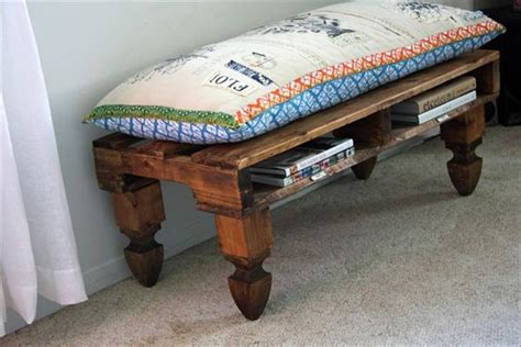 pallet storage bench small store room diy pallet storage bench ideas