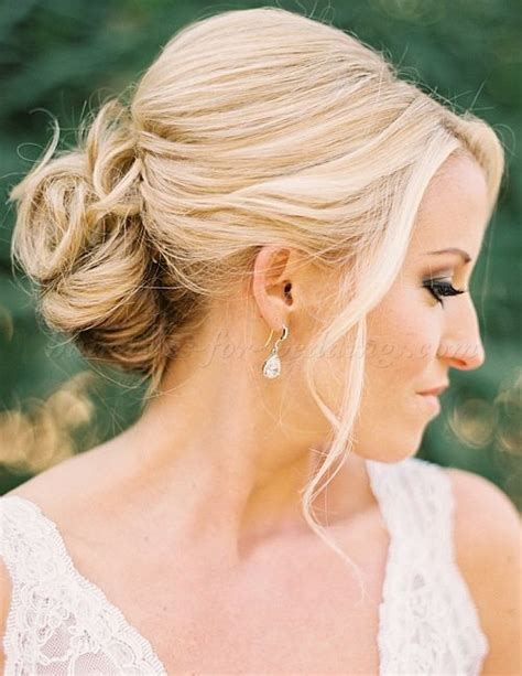 low chignon wedding hairstyle wedding hairstyles 2015 hairstyles for weddings com