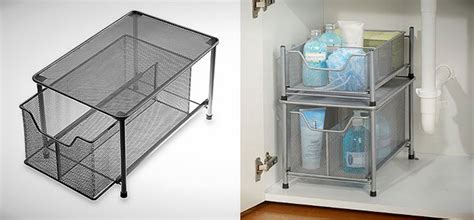 diy under cabinet storage your tiny bathroom is now huge 20 space savers to buy or