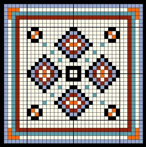 bead pattern library loom patterns