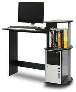 Compact Modern Desk Narrow Computer Desk Compact Computer Desk Design For Space Saving With Modern Stylish Look