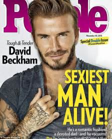 David Beckham Frustrated As Ben Stiller S Zoolander Aims For Sexiest Man Alive Crown Daily Sexiest Alive Magazine Cover Template