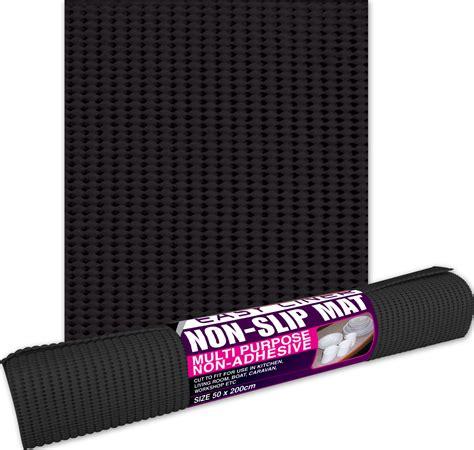 Slipping On Mat by Non Slip Mats Easyliner Black 50cm