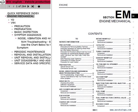 free download parts manuals 2004 nissan pathfinder electronic toll collection download nissan pathfinder model r51 series 2016 esm