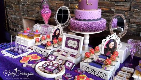 disney descendants party descendents birthday by descendants maleficent s daugther birthday party ideas