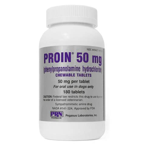 phenylpropanolamine for dogs proin chewable tablets buy proin medication for dogs