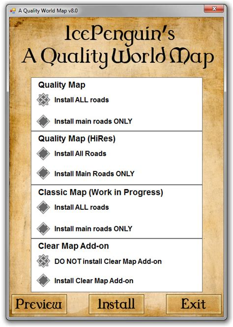 a quality world map installation skyrim beautification project essential mods