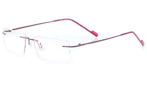 buy rimless eyeglasses spectacles india kolkata