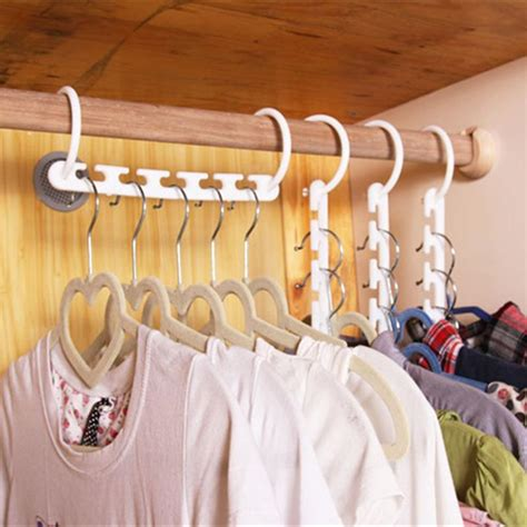 Magic Hanger Clothes Organiser Isi 8 Gantungan Baju Hemat Ruang 1pcs 3d space saving hanger magic clothes hanger with hook closet organizer home tool in laundry