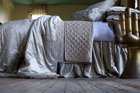velvet bedding lili alessandra chloe diamond quilted fawn velvet coverlet collection