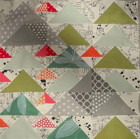 Patchwork Quilt Ideas - flying geese at 3 levels t 230 pper opskrifter og ideer