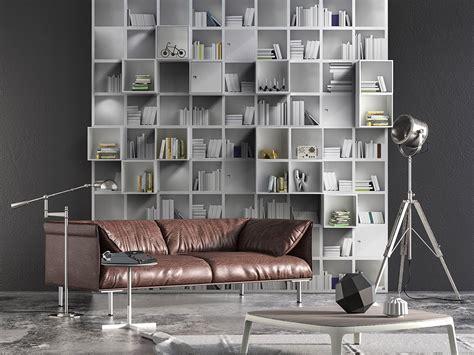 carta da parati finta libreria wallpaper per un nuovo look la casa in ordine