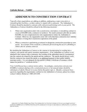 construction contract forms and templates fillable