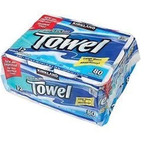 Who Makes Kirkland Paper Towels - kirkland signature premium big roll paper