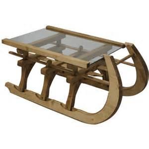 table basse luge plateau verre cir 233