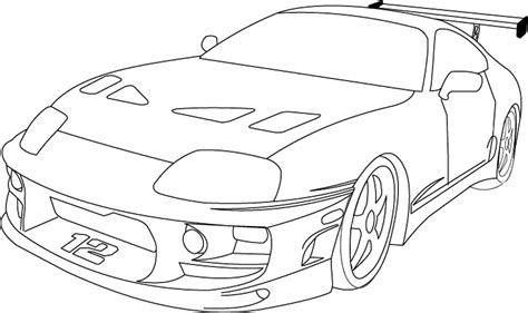 toyota supra drawing fast and furious supra drawing 171 subconscious