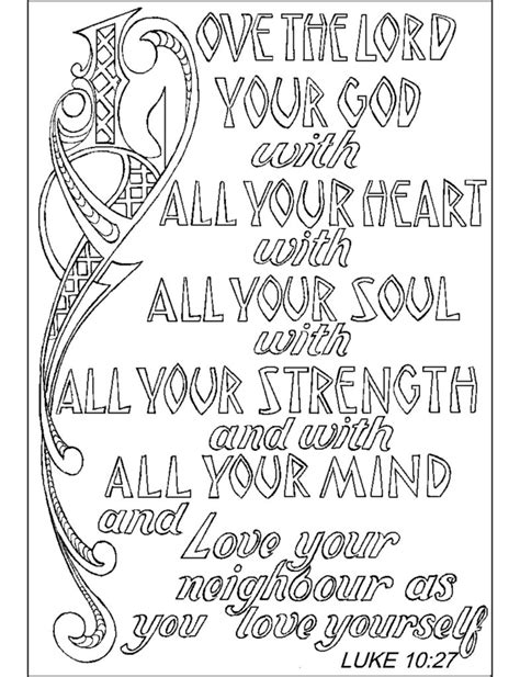 christian coloring pages with verses coloring pages bible verse coloring pages on coloring