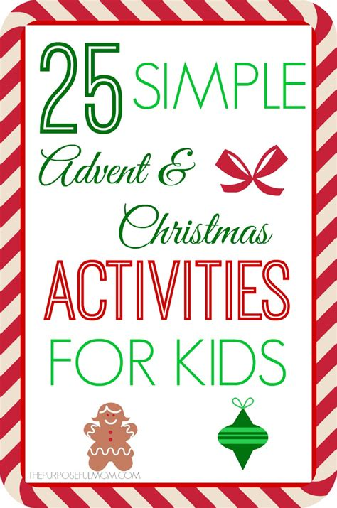 lay 25 easy to do activities with the when you just don t feel like getting up books 25 simple advent and activity ideas for