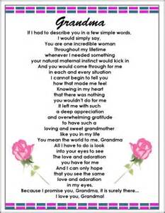 Deceased Grandmother Birthday Quotes 25 Best Ideas About Grandmother Poem On Pinterest Loss