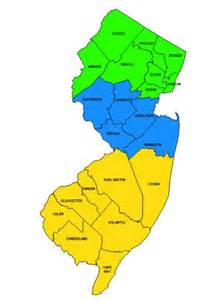 is union county considered northern or central nj newark