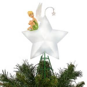 light up tree topper tinker bell light up tree topper d 233 cor