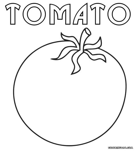 tomato color tomato coloring pages coloring pages to and print