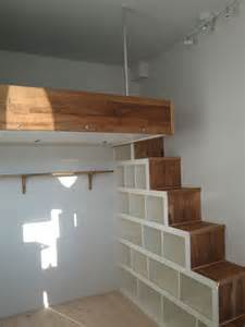 Loft Bed Stair How To Make Loft Bed With Stairs Woodworking Projects