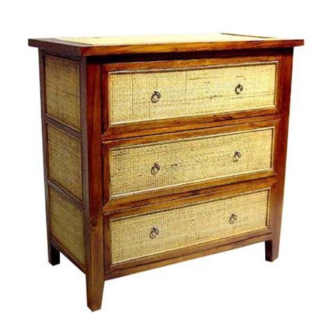Rattan Dresser by Bamboo Teak