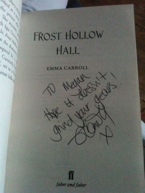 frost hollow hall 0571295444 a little splash of magic frost hollow hall emma carroll