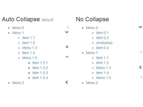 bootstrap layout collapse bootstrap style vertical accordion menu with jquery and
