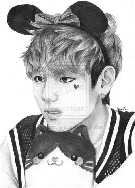 V Sketch Bts by 11 Best Kstyle Images On Bts Taehyung