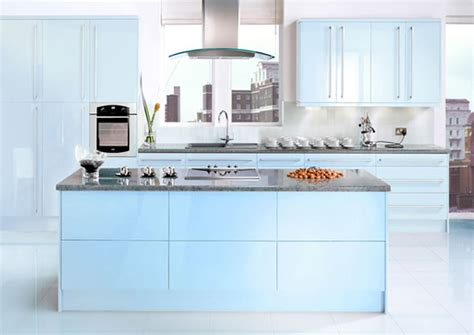 Blue Kitchen Cabinets Ideas by Blue Kitchens